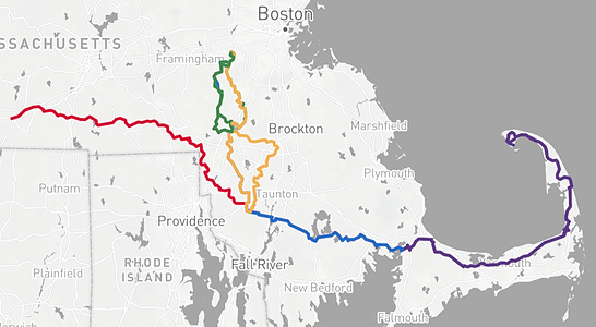 PMC route map