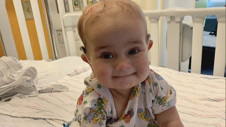WBZ Story: Baby's Cancer Battle Inspires PMC Community