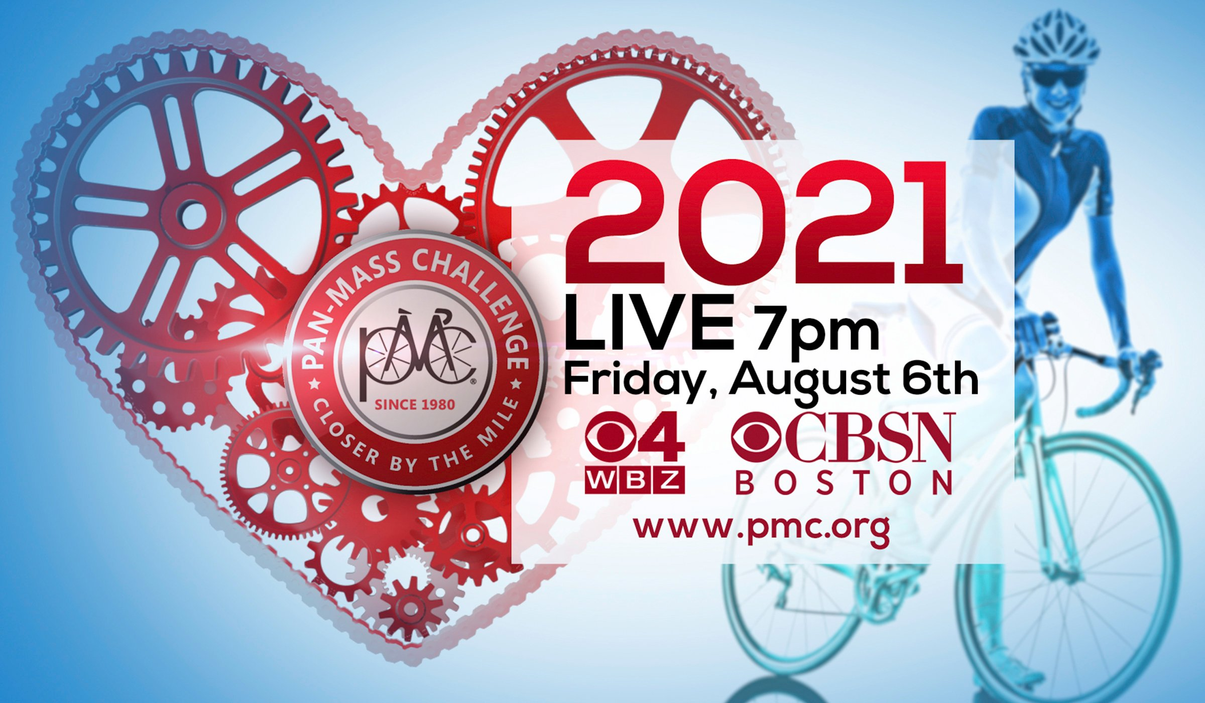 Watch PMC 2021 Live on WBZ-TV • Friday, August 6 at 7 PM